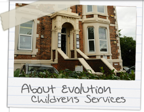 About Evolution Children's Home, Newcastle